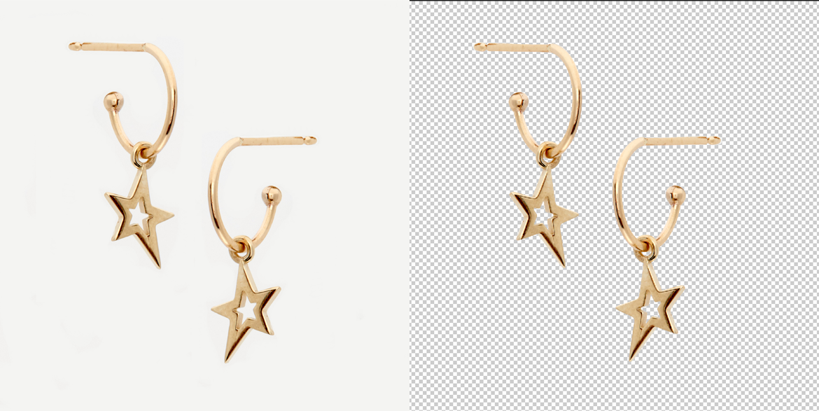 Ear Ring Background Removal Service