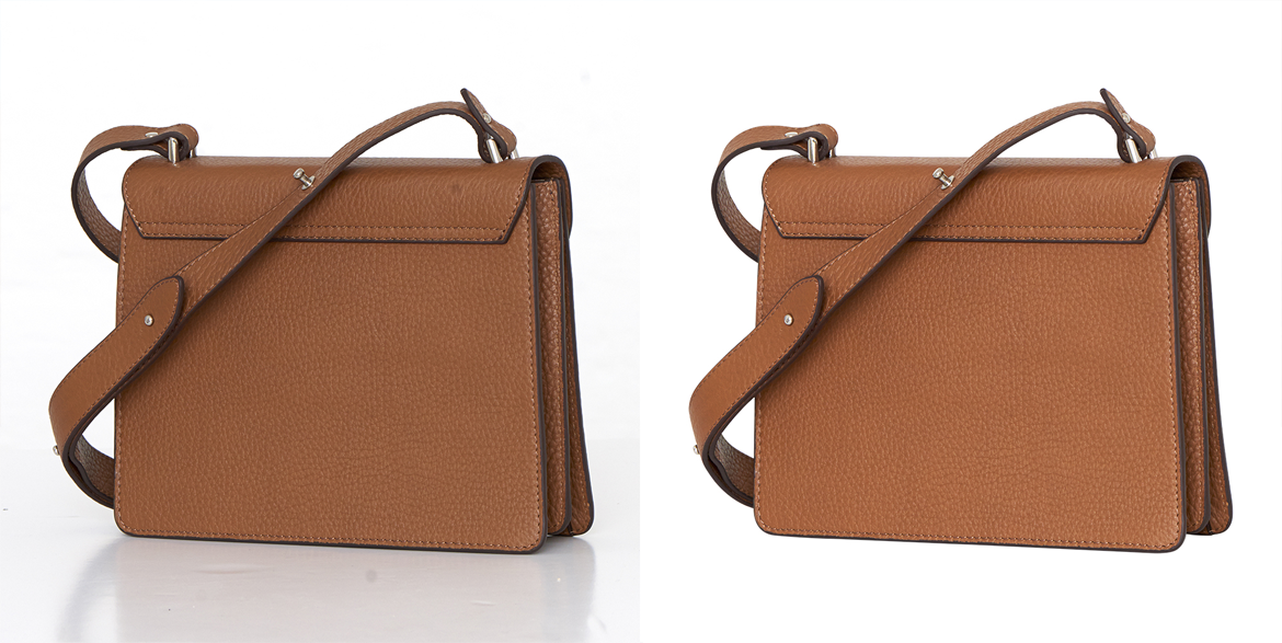 Side Bag Clipping Path