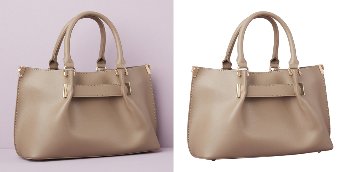 Vanity Bag Clipping Path Service